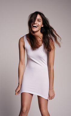 VERO MODA TANK TOP - Maxi Soft Long - Weiss ✓ Top Service ✓ Kostenlose Lieferung ✓ Rechnungskauf ✓ Große Auswahl an Vero Moda Mode für Damen bei Jeans-Meile