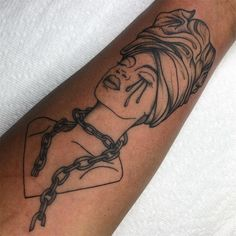 Tattoos For Black Skin, Black People Tattoos, Dark Skin Tattoo, Dope Tattoos For Women, Black Girls With Tattoos, Red Ink Tattoos, Baby Tattoos, Badass Tattoos, Life Tattoos