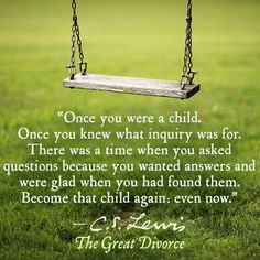 Once you were a child....