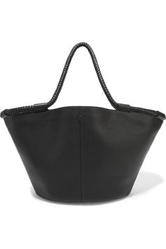 Black textured-leather (Calf) Snap-fastening top Comes with dust bag Weighs approximately 3.1lbs/ 1.4kg Made in Italy