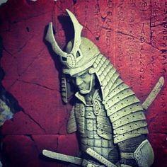 Tabalkon sanat evi rölyef çalışmaları  samurai artwork tabalkon timurtekbas ytong relief ytongart ytongturkey art  samurai  wall Plague hand made rolyef