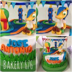 Soccer cake / pastel de fútbol Bakery 676 Brasil mundial