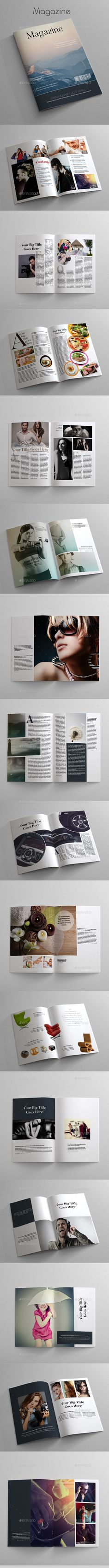 Magazine by azadcsstune MagazineCompletely editable, print ready & Leter 32 pagesText/Font or Color can be altered as needed Inculed 2 INDD, 2 IDML and Magazine Cover Template, Indesign Magazine Templates, Cool Magazine, Print Magazine, Lookbook Design, Magazine Design Inspiration, Layout, Drops Design, Print Templates