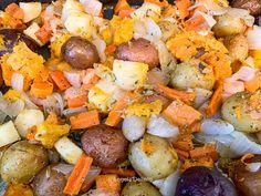 Roasted Root Vegetables, Veggies, Italian Recipes, New Recipes, Vegetable Seasoning, How To Squeeze Lemons, Italian Seasoning, Soups And Stews, Pot Roast