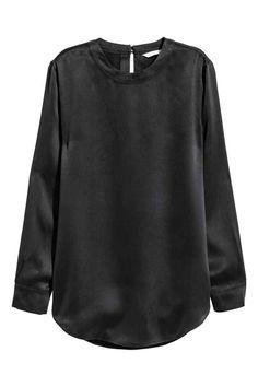 Шелковая блузка | H&M
