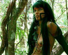 www.djestransportes.com.brIMAGEM - Zahy Guajajara, modelo indígena