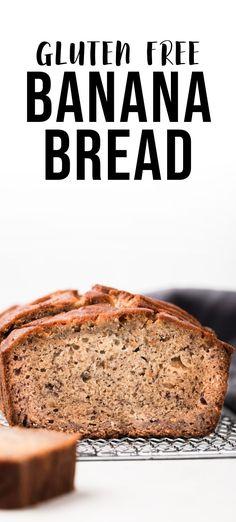 Tasty Bread Recipe, Gluten Free Bakery, Gluten Free Banana Bread, Healthy Brunch, Best Gluten Free Recipes, Delicious Breakfast Recipes, Recipe Mix, Banana Bread Recipes, Pastry Recipes