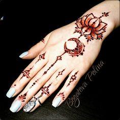 Fingers lotus wrist