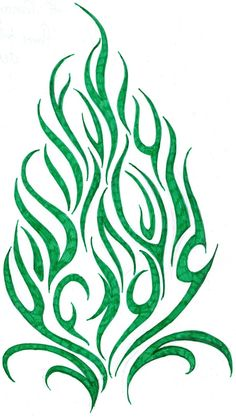 Download Free Flame Tribal Tattoo Design by Cherry Cheese Cake on DeviantArt to use and take to your artist.