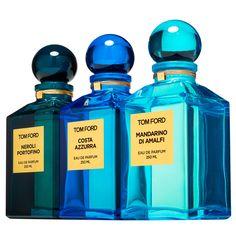 Tom Ford Private Blend Collection in Neroli Portofino, Costa Azzura and Mandarina Di Amalfi