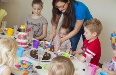 Kindergeburtstag im Dachboden Zauber auf sunny.at Birthday Candles, Centre