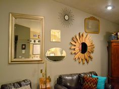 Cool Wall Mirrors Ideas