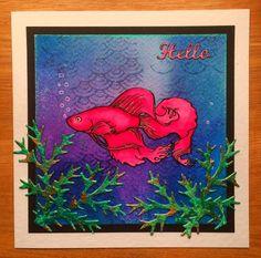 Wendy's Card Craft: Designs by Ryn - A fish tale!