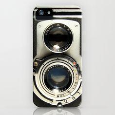 Vintage Camera iPhone Case by Ewan Arnolda - $35.00