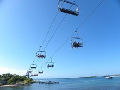Mahogany Bay Chair Lift, not sure what we are doing there yet, but hopefully something fun.