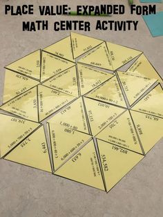Place value, 30 problem expanded form puzzle ideal for math center work. Use the included interactive notebook page as part of your INB activities. Expanded form numbers go out to the hundred thousands place value. Can be used by small group, partners, or individual students.