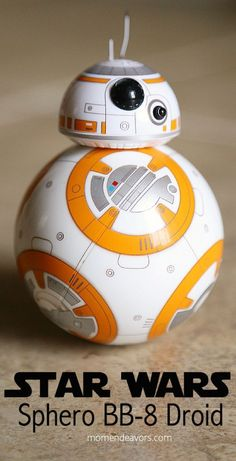Win a Star Wars Sphero Droid! - Droids Star Wars - Ideas of Droids Star Wars - Photo by Mom Endeavors Star Wars Bb8, Star Wars Cake, Star Wars Droids, Star Wars Party, Lego Star Wars, Star Wars Desenho, Cuadros Star Wars, Starwars, Star Wars Food
