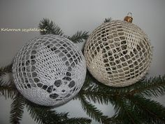 Crochet Christmas Decorations, Crochet Ornaments, Christmas Crafts, Snowflakes, Diy And Crafts, Christmas Bulbs, Knitting, Holiday Decor, Pattern