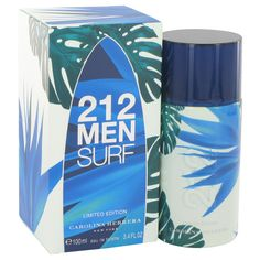 Buy 212 Surf (Limited Edition by Carolina Herrera Eau De Toilette Men Perfume cheap from Australia's best online perfume store. Free delivery to Australia and New Zealand on all fragrance and cologne orders. Carolina Herrera 212, Perfume Carolina Herrera, Perfume 212 Men, Perfume And Cologne, Men's Cologne, Perfume Fragrance, 212 Man, Best Mens Cologne, Perfume Store
