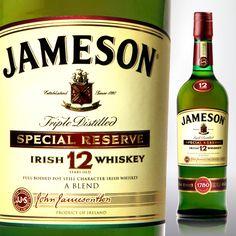 Jameson Irish Whiskey 12 Year. Great Irish Whiskey For Under $50.00