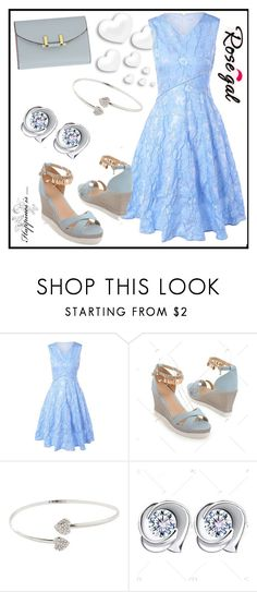 """""""Dress- Rosegal 58"""" by aazraa ❤ liked on Polyvore featuring vintage"""