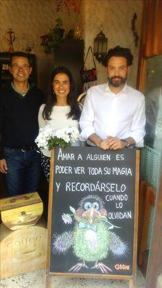 Con Mari Carmen Hernández Bento, Guillermo Mariscal Anaya y Domingo Cabrera Macias