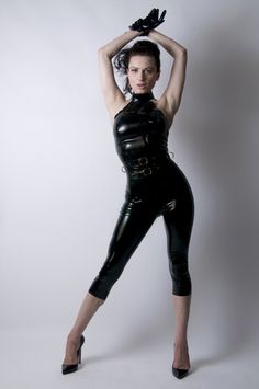 Hey, I found this really awesome Etsy listing at https://www.etsy.com/listing/162872736/latex-rubber-catsuit-with-capri-length
