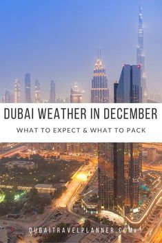What sort of weather does Dubai experience in December? We talk you through expected day and night temperatures, sea temperature, unsual weather to look our for and what you may want to pack for December in Dubai Dubai Vacation, Dubai Travel, Dream Vacations, Dubai Trip, Places To Travel, Travel Destinations, Places To Visit, Dubai Hotel, Dubai Uae