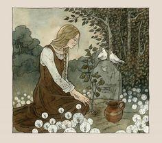 Illustrations by Liga Klavina   Cuded