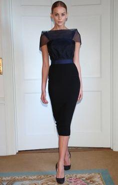 FEMINA - Modéstia e elegância: The Victoria Beckham Collection - 2009 Dresses