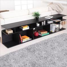 Zara Modern Black Sofa Table By Enitial Lab YNJ-ST1004BLK-A1