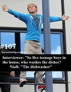 Niall is so funny