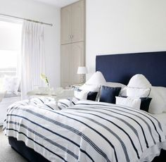 Coastal Country Bedrooms: http://www.completely-coastal.com/2016/03/coastal-country-bedrooms.html