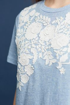 Slide View: 2: Blanche Embroidered Top