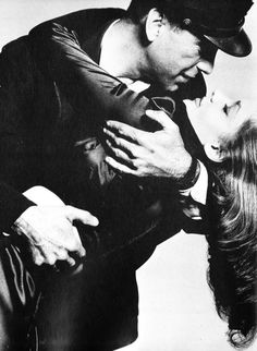 While filming 'To Have and Have Not', Humphrey Bogart 45 became enchanted with Lauren Bacall 19. Their affair presented problems as Bogart was still married to Mayo Methot.  1943/1944