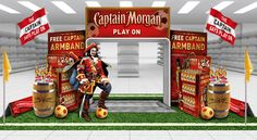 Captain Morgan Point Of Purchase
