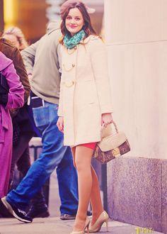 Leighton Meester as Blair Waldorf-- favorite
