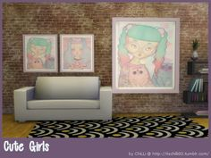 Sims 4 CC's - The Best: Cute Girls by ChiLLis Sims