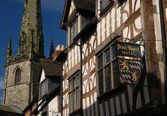 The Prince Rupert Hotel,Shrewsbury.Ehgland