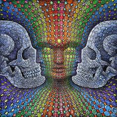 Alex Grey / Sacred Geometry <3