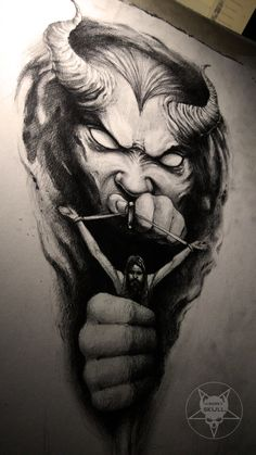 demon by AndreySkull.deviantart.com on @DeviantArt