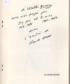 2000 scritto di Claude Massè da catalogo