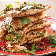 savory chicken with lemon and capers