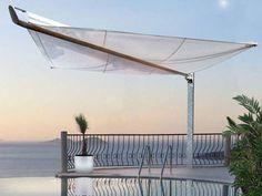 Tenda a vela motorizzata BOOM Collezione Design Line by HELLA Italia