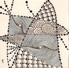 zen easy doodle zentangle patterns zentangles drawings doodles strung tangle challenge simple diva drawing