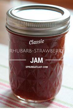 Rhubarb-Strawberry Jam.