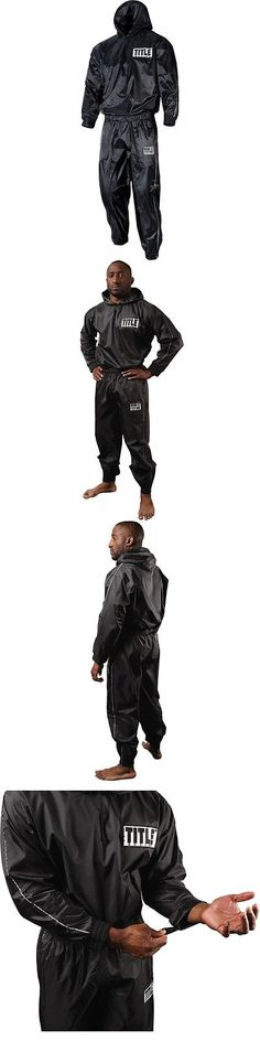 Sauna Suits 179812  Title Boxing Rip-Stop Nylon And Pvc Rubber Lined Sauna  Suit With Hood - Black -  BUY IT NOW ONLY   49.99 on eBay! d27fdb964