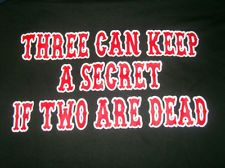 HELLS ANGELS SUPPORT T-SHIRT 2 R DEAD