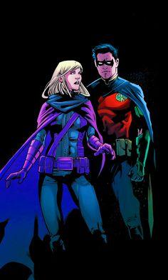 Stephen and Tim — rose-wilson-worth: Detective Comics #945