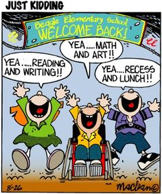 "Welcome to ""Just Kidding - Education Cartoons for School Teachers "", the best site on the web for Education Cartoons, Teacher Cartoons and School Cartoons!"